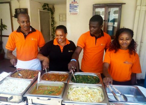 rising star cafe & restaurant nairobi, laiboni center